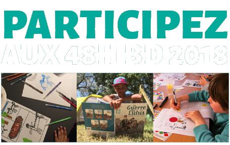 Participez aux 48H BD 2018